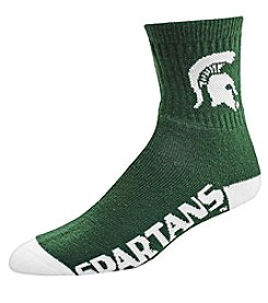 For Bare Feet NCAA® Michigan State Spartans Men's Team Socks
