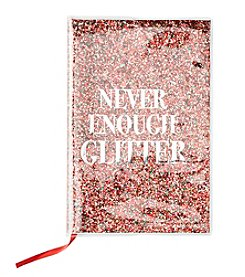 Collection 18 Never Enough Glitter Notebook
