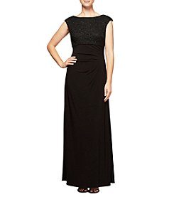 Alex Evenings Empire Waist Dress