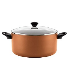 Farberware Aluminum Nonstick Covered Stockpot, 10.5-Quart