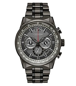 Citizen Men's Eco-Drive Chronograph Nighthawk Gray Watch