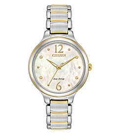 Citizen Women's Eco-Drive L Two-Tone Stainless Steel Watch