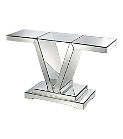 Dimond Mirrored Console Table