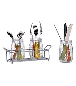 Tabletops Unlimited Four Piece Flatware Caddy
