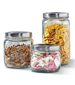 Tablestops Unlimited Set of 3 Mason Jar