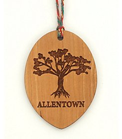Aspiring Artists of the Earth Allentown Tree Ornament