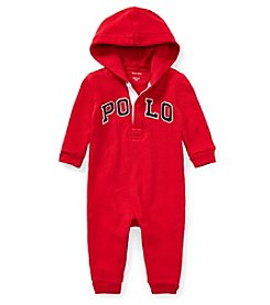 Ralph Lauren Baby Boys' Terry Hooded Coverall