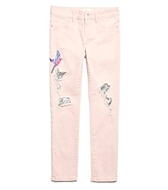 Jessica Simpson Girls' 7-16 Kiss Me Sequin Skinny Jeans