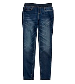 Jessica Simpson Girls' 7-16 Gracie Pull-On Skinny Jeans