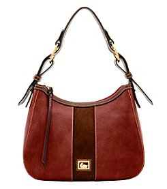 Dooney & Bourke Florentine Suede Riley Hobo