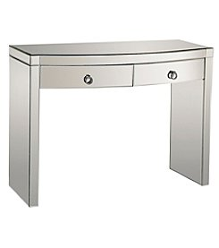 Dimond Home Bow Front Mirror Console Table