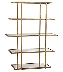Dimond Home Diamond Gold Leaf Frame Shelf