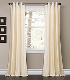 Lush Decor Prima Velvet Solid Room Darkening Window Curtain Set