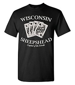 Brew City Brand Men's Wisconsin Sheepshead Capital Tee
