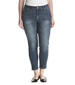 393818788a584 Ruff Hewn Plus Size Comfort Waist Skinny Ankle Jeans