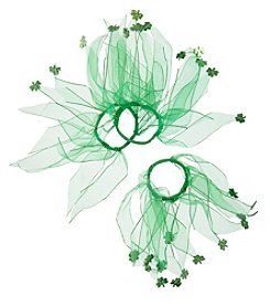 Studio Works Shamrock Hair Ties