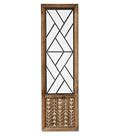 Ruff Hewn Wood Iron Door Wall Decor