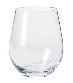 Living Quarters Stemless Acrylic Wine Glass