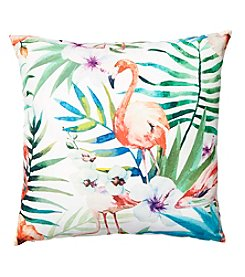 Living Quarters Flamingo Decorative Pillow