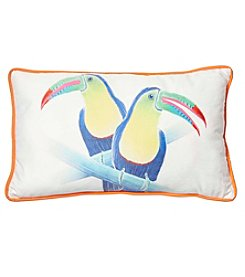 Living Quarters Toucan Lumbar Decorative Pillow
