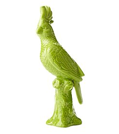 Living Quarters Lime Ceramic Parrot