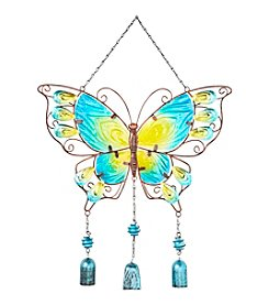 Living Quarters Hanging Charm accented Butterfly