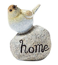 Living Quarters Yellow Bird Home On Stone