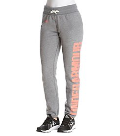 Under Armour Favorite Fleece Jogger Pants
