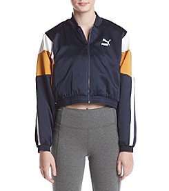 PUMA Colorblock Cropped Track Jacket