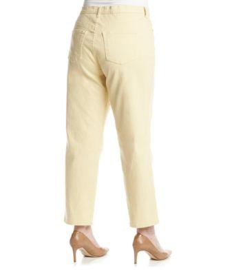 5f3f6d9a1d3a7 Gloria Vanderbilt Plus Size Amanda Colored Jeans