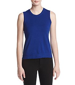 Calvin Klein Sleeveless Sweater Top