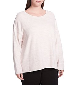 Calvin Klein Performance Plus Size Pullover Top
