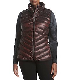 Calvin Klein Performance Plus Size Down Fill Quilted Jacket