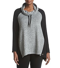 Calvin Klein Performance Plus Size Cowl Neck Sweatshirt