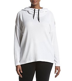 Calvin Klein Performance Plus Size Cold Shoulder Sweatshirt