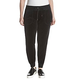 Calvin Klein Performance Plus Size Velour Joggers