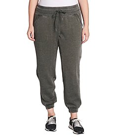 Calvin Klein Performance Plus Size Drawstring Elastic Cuff Pants