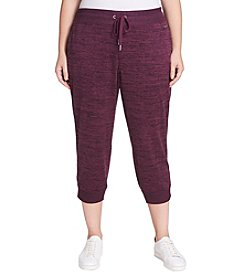 Calvin Klein Performance Plus Size Cropped Joggers