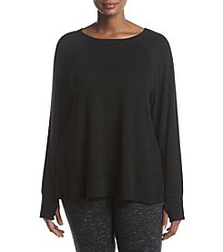 Calvin Klein Performance Plus Size Knit Top