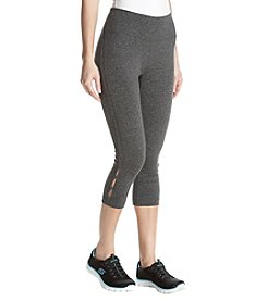 Exertek Keyhole Lattice Crop Pants