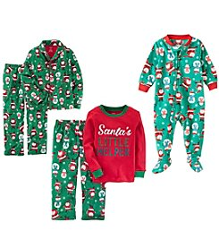 Carter's Boys' 12M-12 Santa Pajama Collection