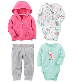 Carter's Baby Girls' Hoodie and Bodysuit Collection