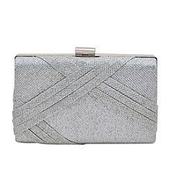 La Regale Shimmer Pleat Minaudiere