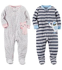 Carter's 12M-14 One Piece Fleece Pajamas Collection