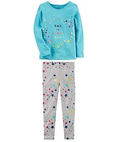 Carter's Girls' Long Sleeve Tee and Leggings Set