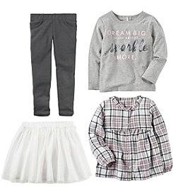 Carter's Girls' Long Sleeve Top, Tutu and Leggings Collection