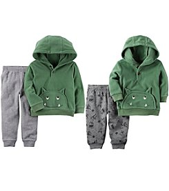 Carter's Boys' Monster Hoodie and Joggers Sets