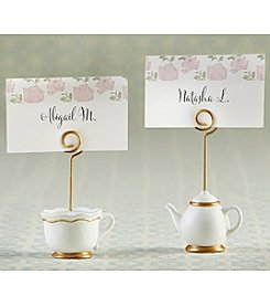Kate Aspen Set of 12 Tea Time Whimsy Place Card Holders