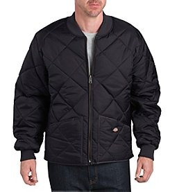 Dickies Men's Big & Tall  Diamond Quilted Nylon Jacket