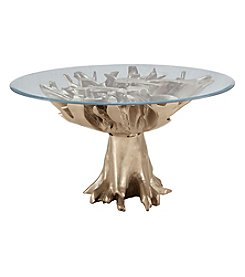 Dimond Champagne Teak Root Entry Table